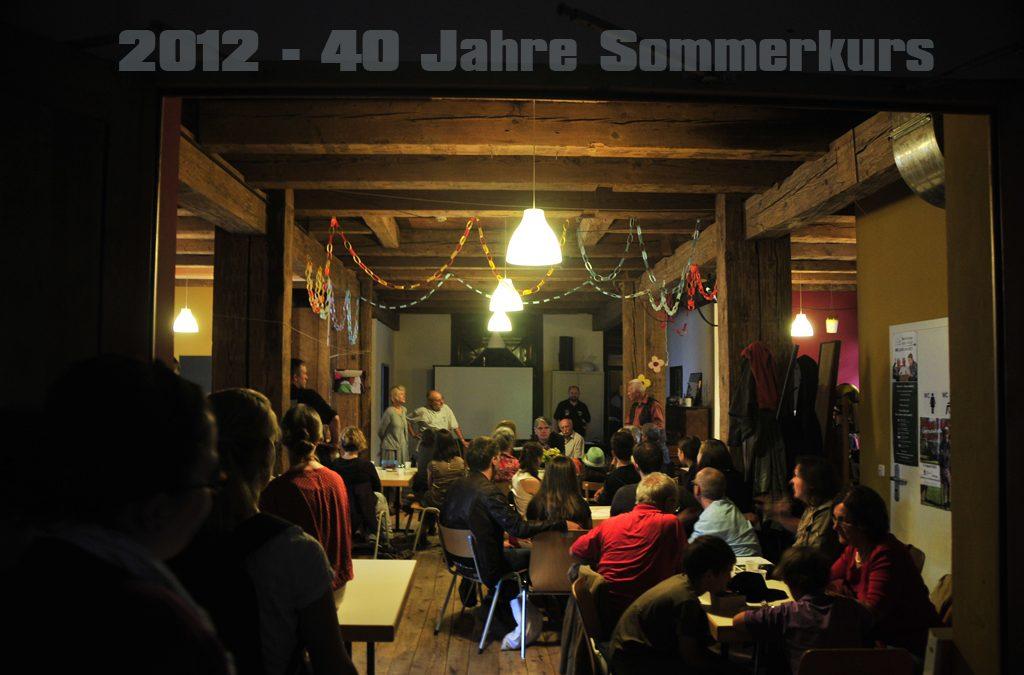 40-jähriges Kursjubiläum (2012)